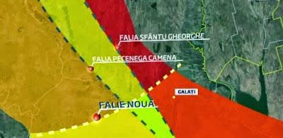 Actividad sismica inusual en la provincia de Galati, Este de Rumania, 04 de octubre 2013