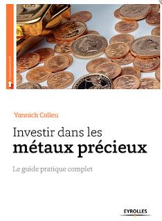 livre yannick colleu investir métaux précieux