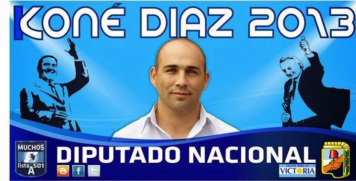 """Miguel """"Conè"""" Diaz - Lista 2 Partido Justicialista"""