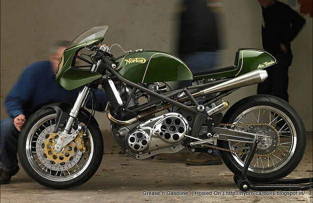 Ala Verda 850 Norton Commando - cafe Racer