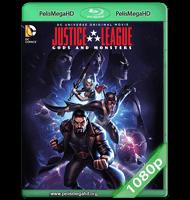 LA LIGA DE LA JUSTICIA: DIOSES Y MONSTRUOS (2015) WEB-DL 1080P HD MKV ESPAÑOL LATINO