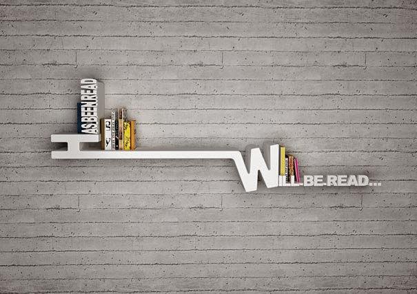 أفكار لترتيب الكتب