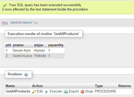 How to create Mysql Store Procedure using XAMPP,create Mysql Store Procedure using XAMPP,Mysql Store Procedure using XAMPP,Store Procedure using XAMPP,