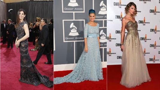celebridades vestido elie saab