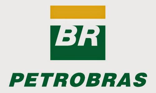 Logomarca da Petrobrás.