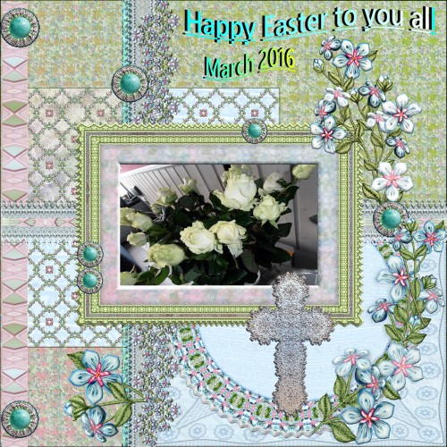 March 2016 - Happy Easter to you all