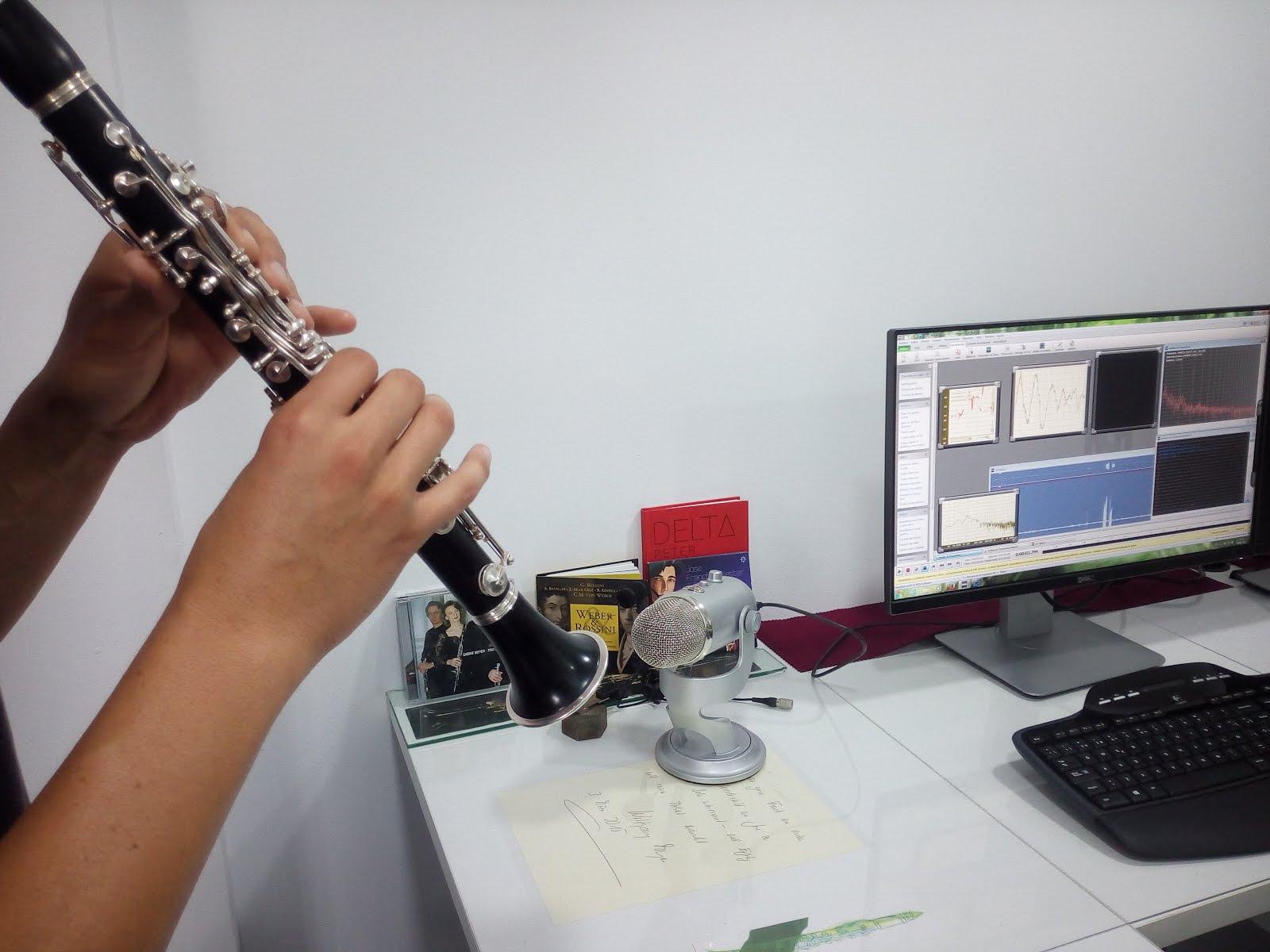 Servicio Técnico Acustico del Clarinete