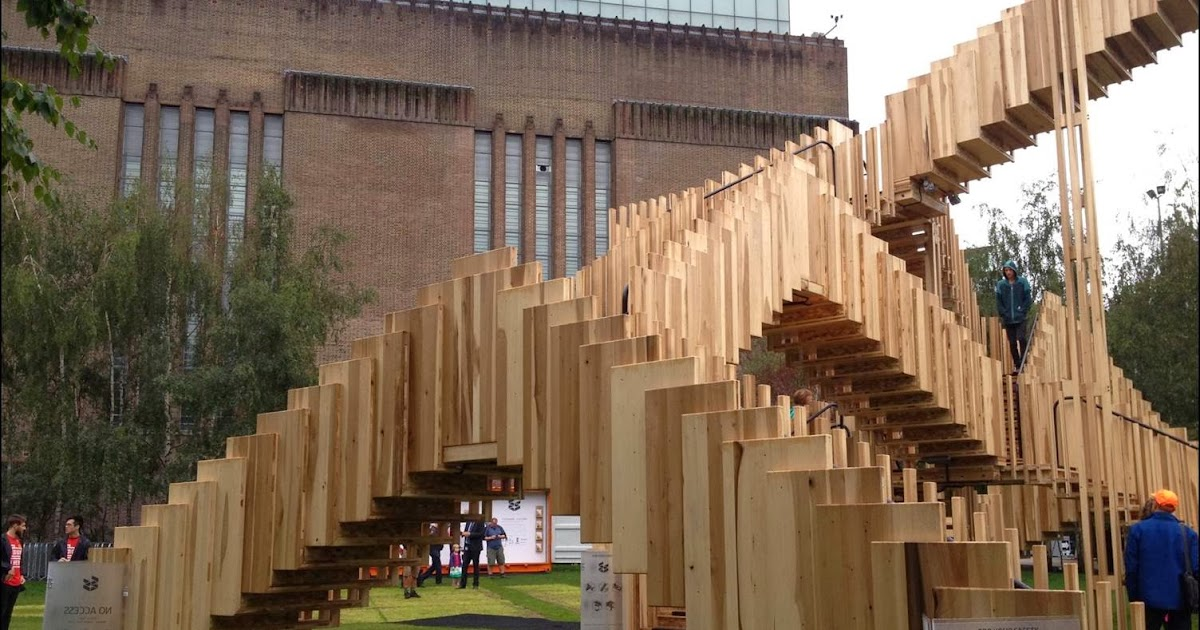 The balmy haystack endless stair london design for London design festival 2013
