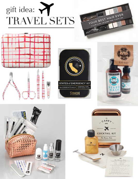 Travel Set, Gift Idea, Pinch Provisions, Carry on cocktail, to-go, set, Christmas