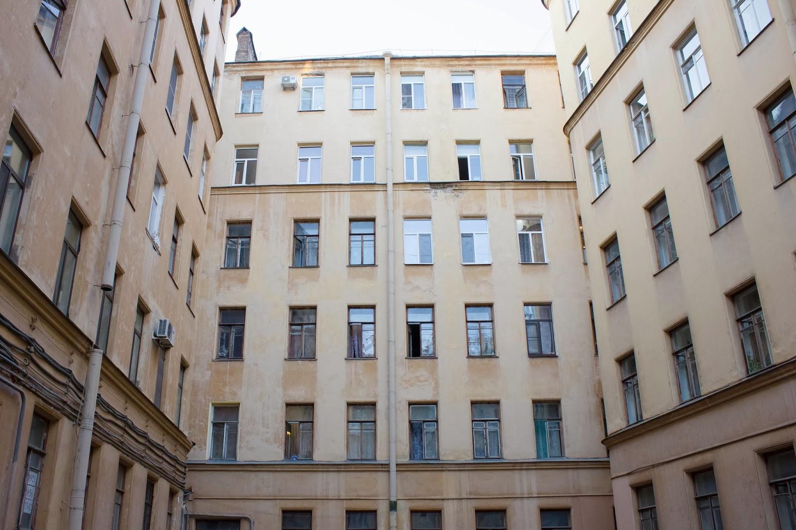 Санкт-Петербург, Окна