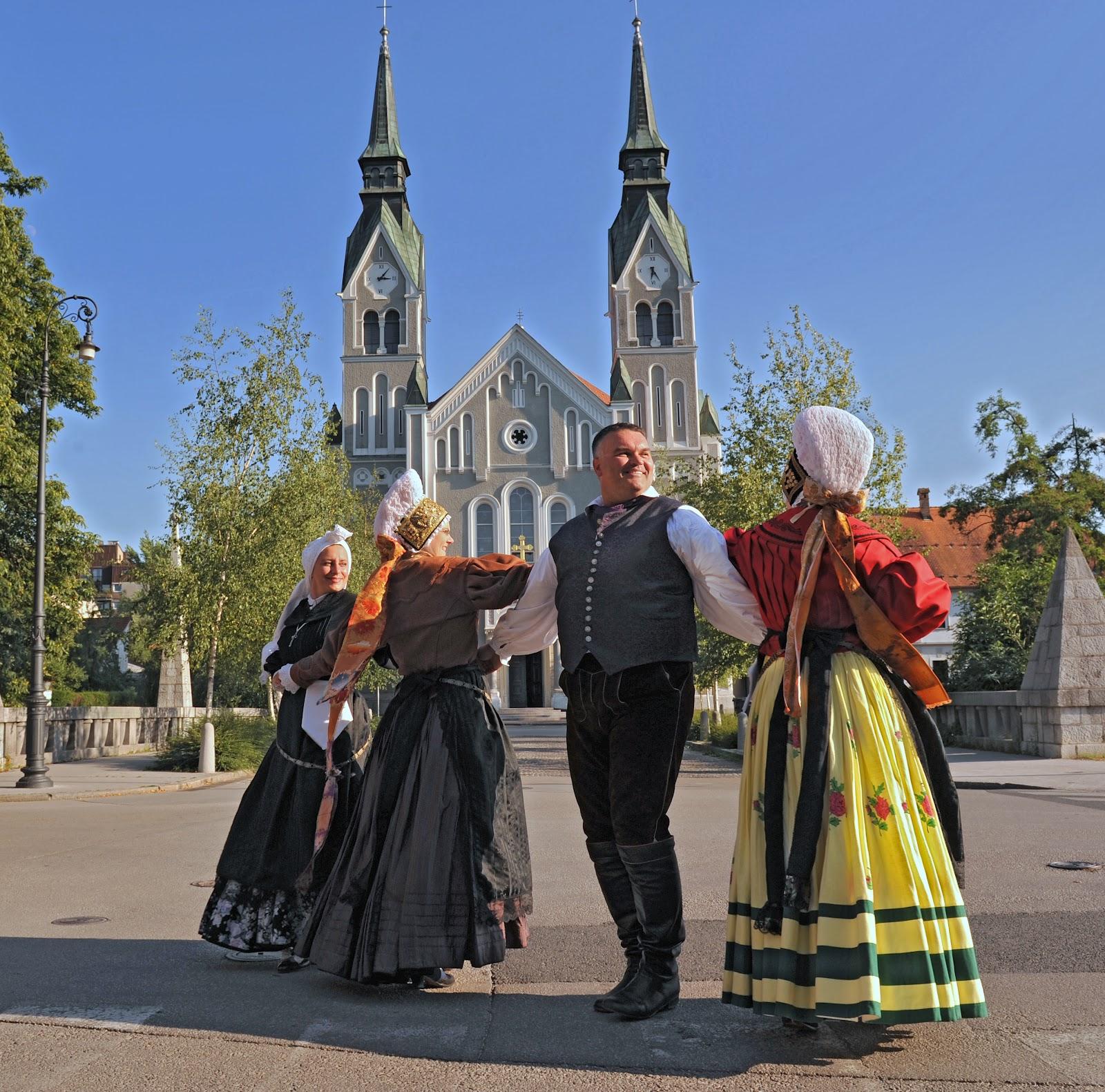 Dragons From Ljubljana: Slovenian National Costumes