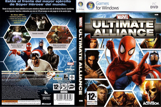 Marvel: Ultimate Alliance para PC [1 Link][MEGA]