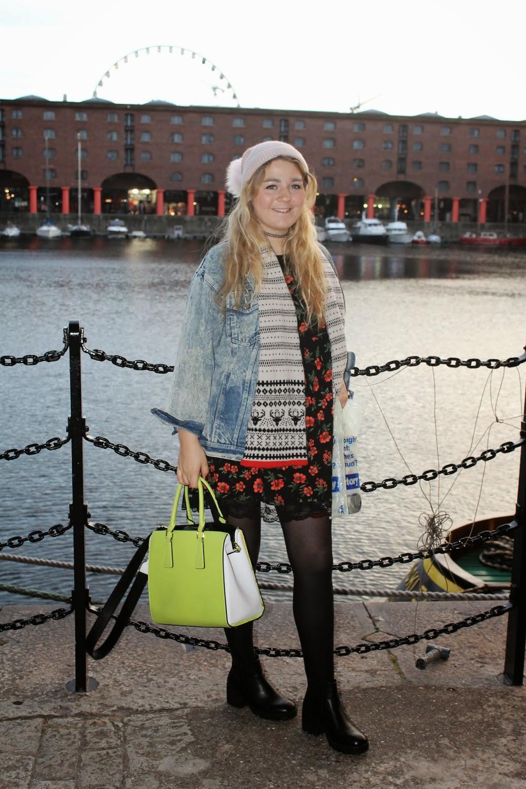New Look Floral Dress Liverpool Docks