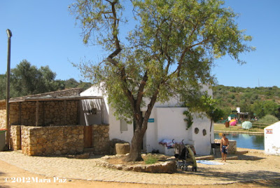 Old Portuguese miller's home