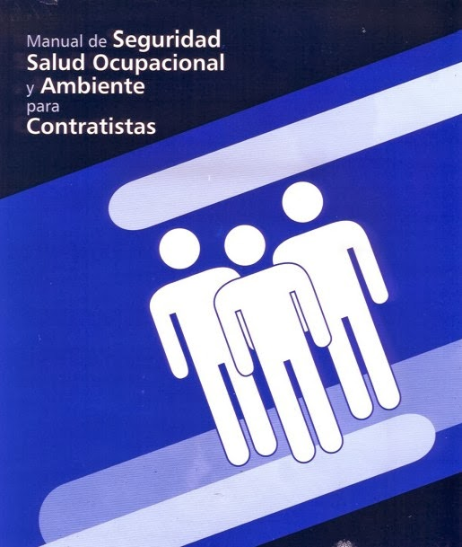 Manual,Seguridad,Salud Ocupacional,Ambiente,Contratistas