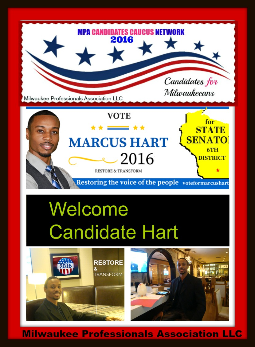 CANDIDATE MARCUS HART - 6th District
