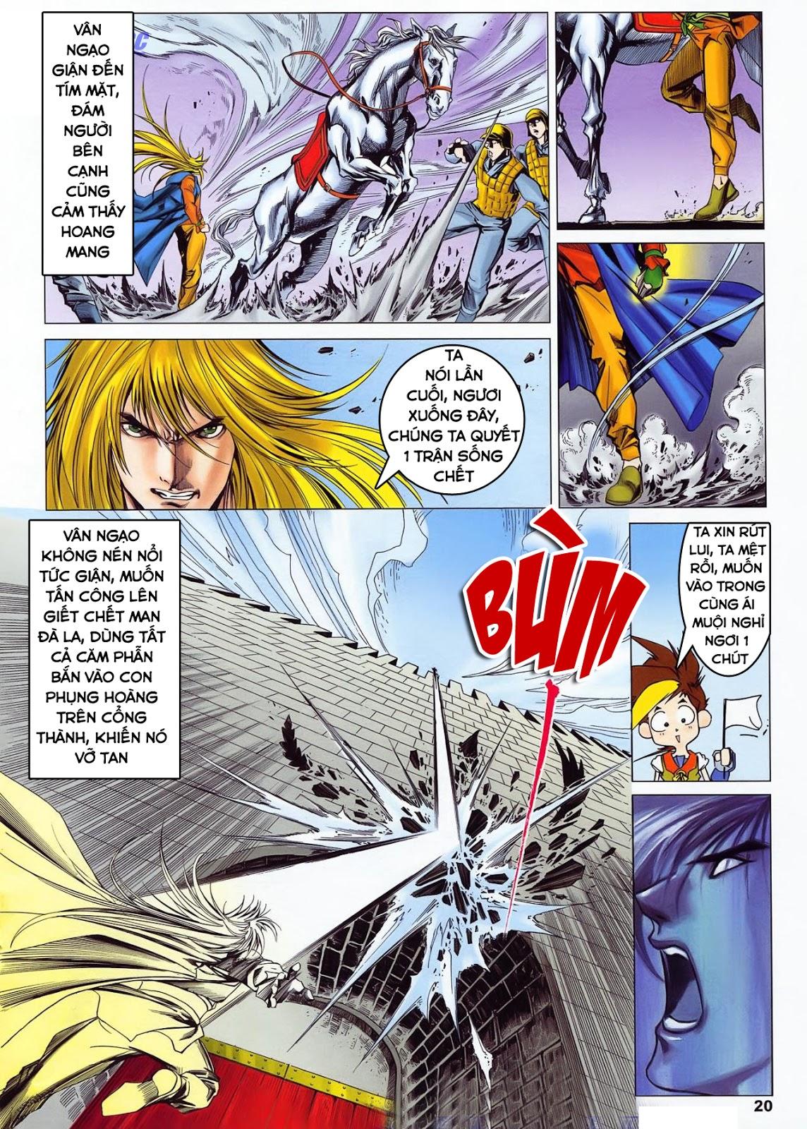 Lục Đạo Thiên Thư chap 36 - Trang 20