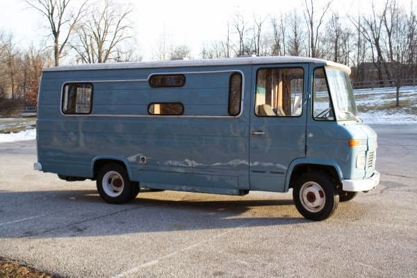 Camper conversion 1967 mercedes benz o309d auto for Mercedes benz camper for sale