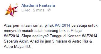 Adel Bakal Diserap AFUNDI Masuk, info, terkini, sensasi, hiburan, Adel AF 2014, gosip,