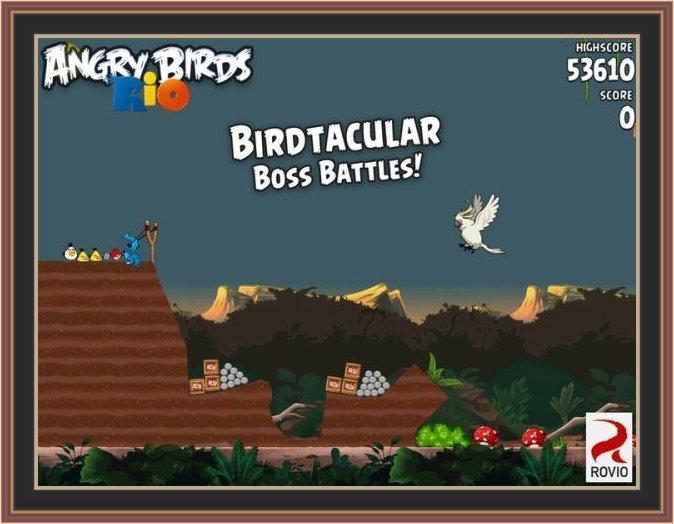 Angry Birds Rio ScreenShot No.1