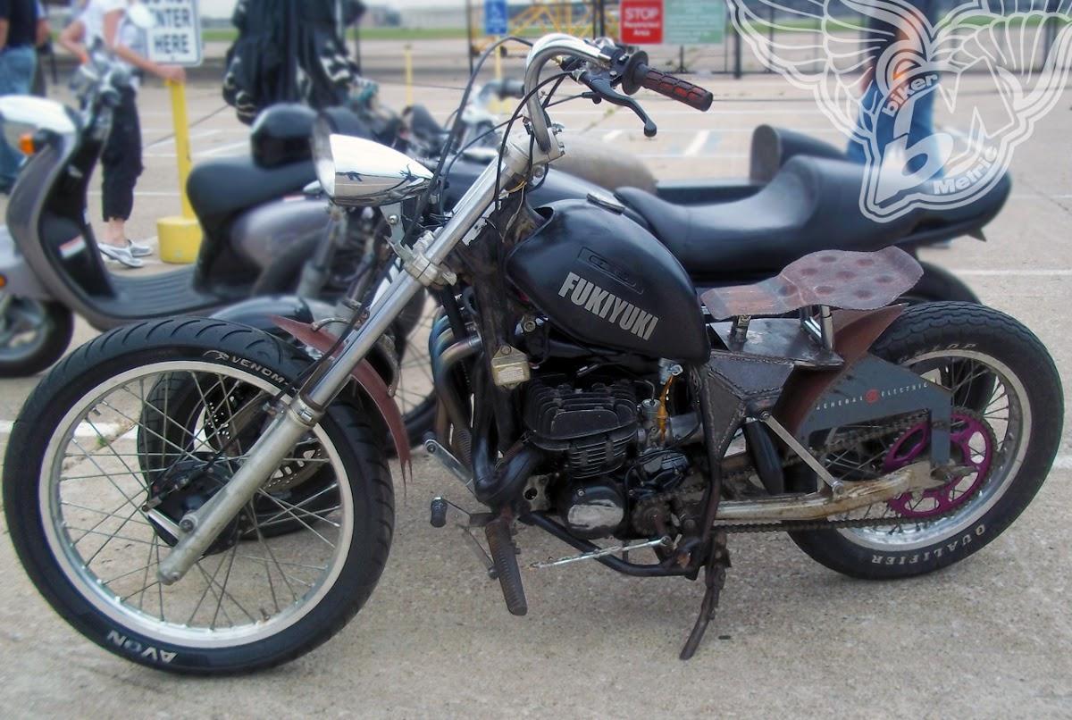 suzuki 125 rat bike | blue star motorcycles