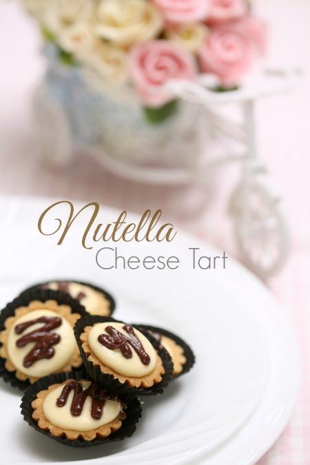 Anda Peminat Cheese Tart Kini Nutella Yang Sangat Sedap Memang Terasa Cheesenya Dan Bertambah Enak Dengan Limpahan