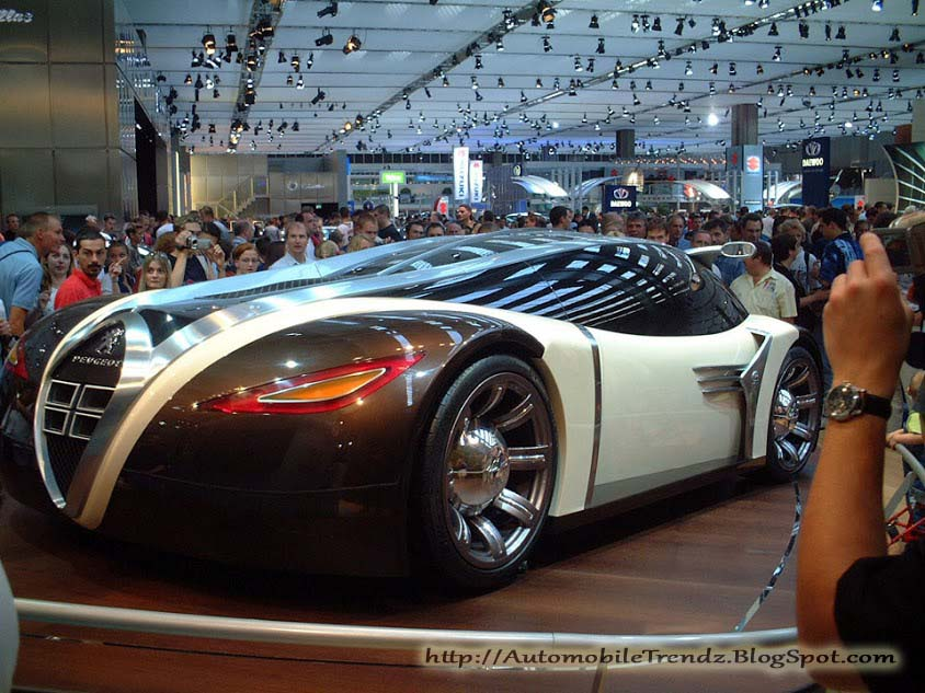 Automobile Trendz Peugeot 4002 Concept Car