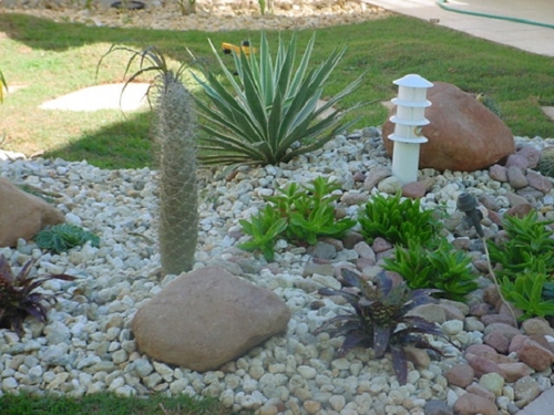 Com Arte e Amor Como calcular a quantidade de pedras para um jardim