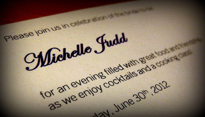 Bachelorette Party Invitation - Photo by Michelle Judd of Taste As You Go