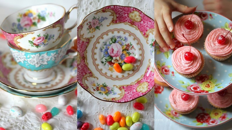 Easter Collage: The Charm of Home
