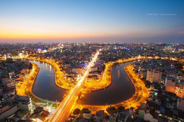 Ho Chi Minh city with its dynamic nightlife