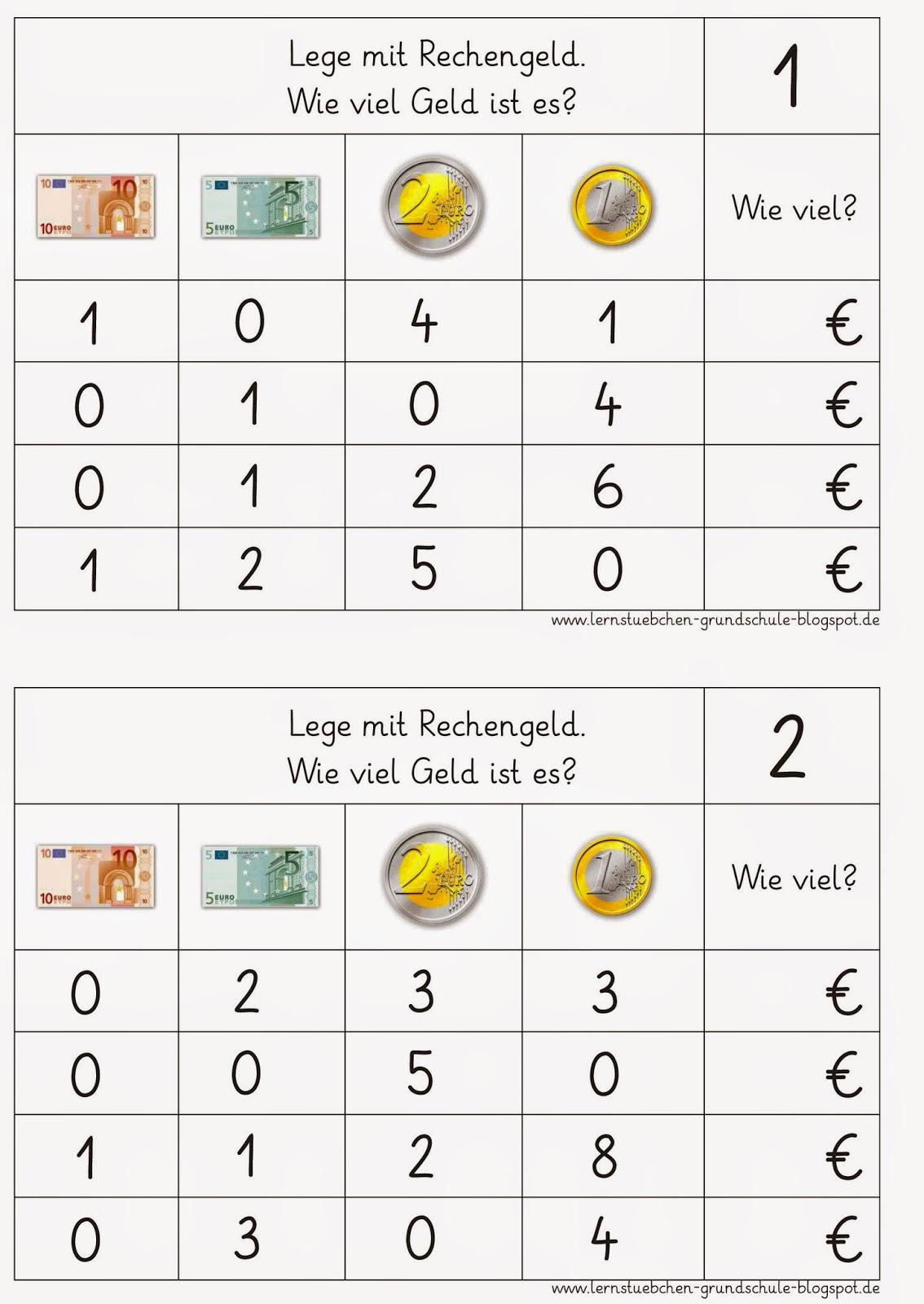 Ausgezeichnet Erste Klasse Zählen Geld Arbeitsblatt Fotos - Super ...