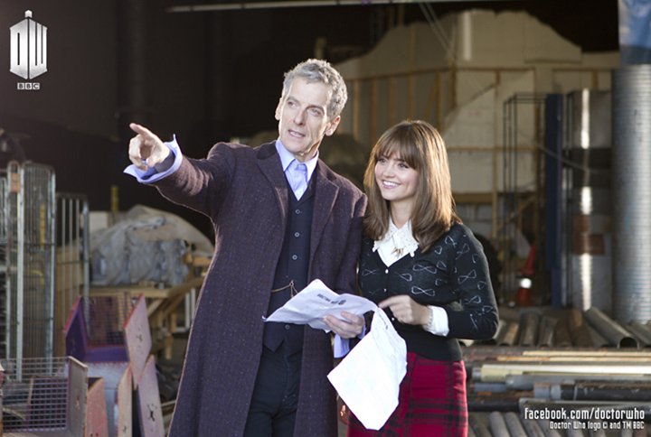 doctor who, peter capaldi, jenna coleman, doctor, clara, bbc, television