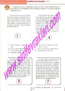 6.Sinif  Turkce Doku Yayinlari Ogrenci Calisma Kitabi Sayfa 133