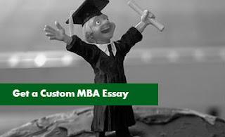 Get a Custom MBA Essay