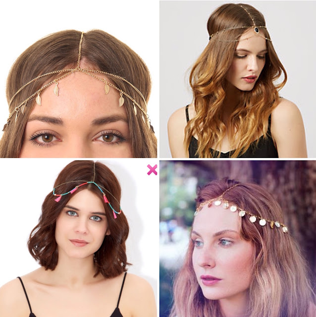 Inspire Magazine Online - UK Fashion, Beauty & Lifestyle blog | Fashion | Summer Trend - Head Chains; Inspire Magazine; Inspire Magazine Online; Summer Trends; Headchains