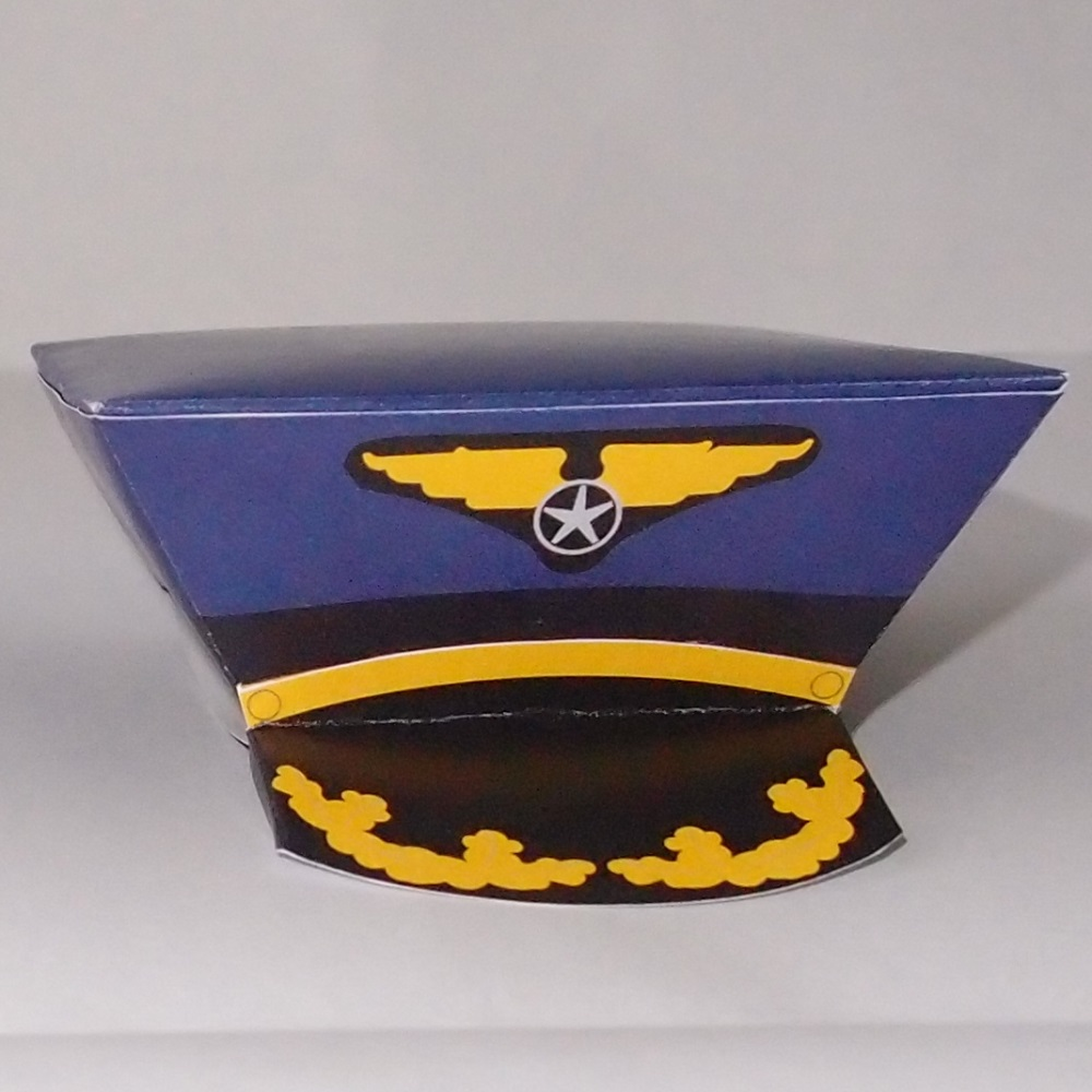 Pilot Hat Template Airline Pilot Hat Gift Box