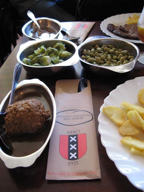 cibo olandese ristorante amsterdam hap hmm