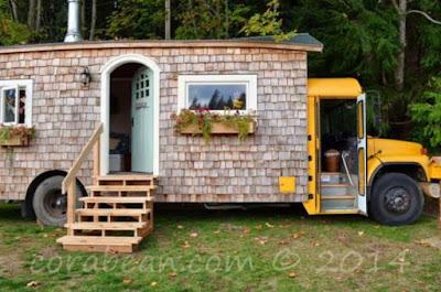 Σχολικό λεωφορείο μετατράπηκε σε ένα σπίτι που θα σας εκπλήξει!
