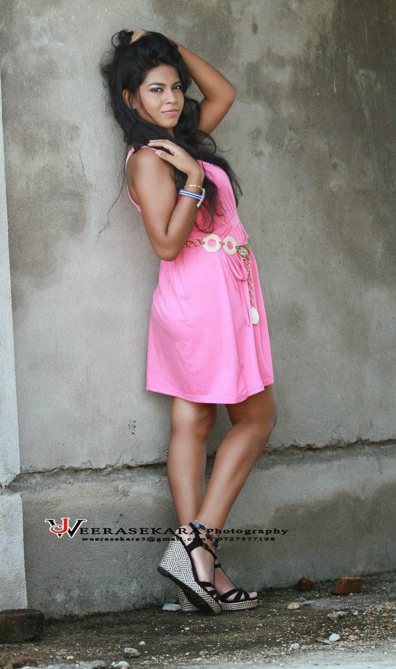 Maashi Hewage butt pink
