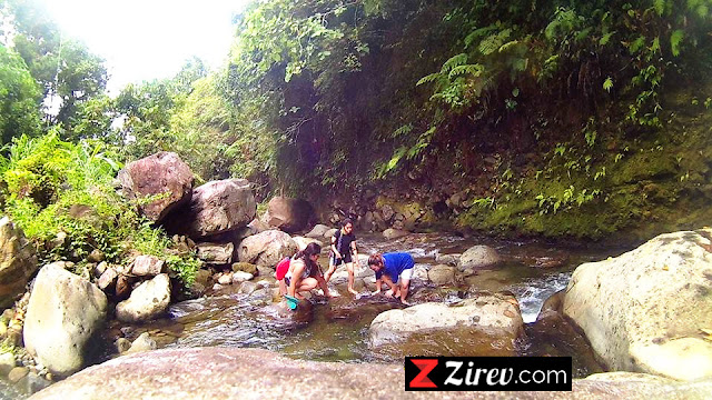 The Forest Camp, Valencia, Negros Oriental – River Trekking, Rock Hopping
