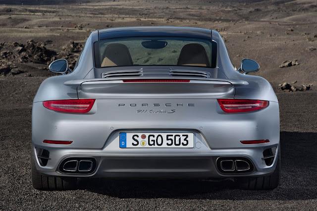 Porsche 911 Turbo rear