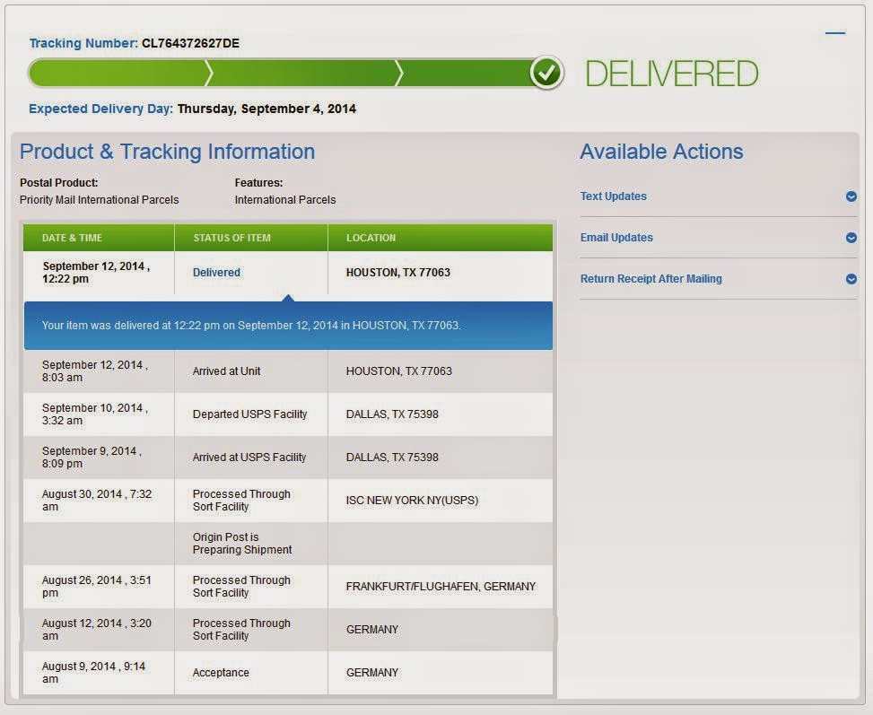 Usps Track And Trace
