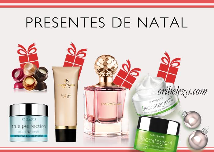 Presentes de Natal Oriflame: Escolha do Editor