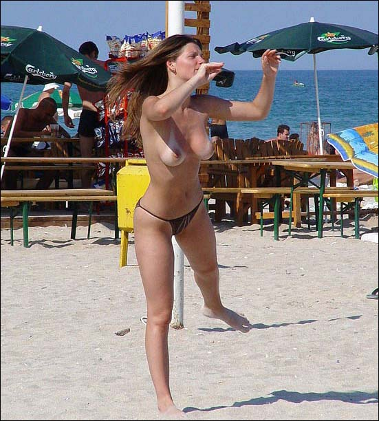 nude wife beach volleyball
