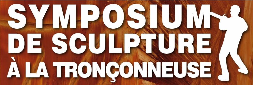 Symposium de sculpture à la tronçonneuse à Foussais-Payré (85)