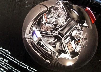 karton abbildung der sog. ball technologie von dyson