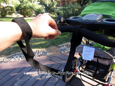 jogging stroller tether