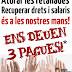 Ens deuen 3 pagues!: El Govern del PP estudia tornar el 100% de la paga que ens va robar el 2012
