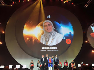 Global Top 15 Oriflame #8 Morocco - Zahhia Soulami  (Sapphire Executive Director)